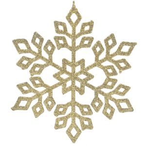ornament-flake-auriu-15cm