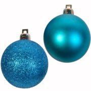 set-12-globuri-balls-turcoaz-5cm