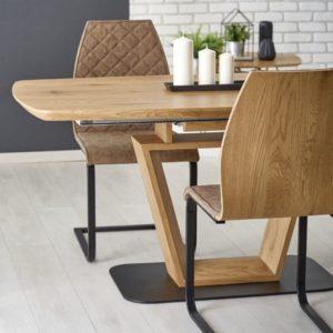 Set-masa-MDF-Blacky-4-scaune-K265-Brown2