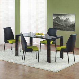 Set-Masa-din-sticla-Kevin-Black-4-scaune-K199