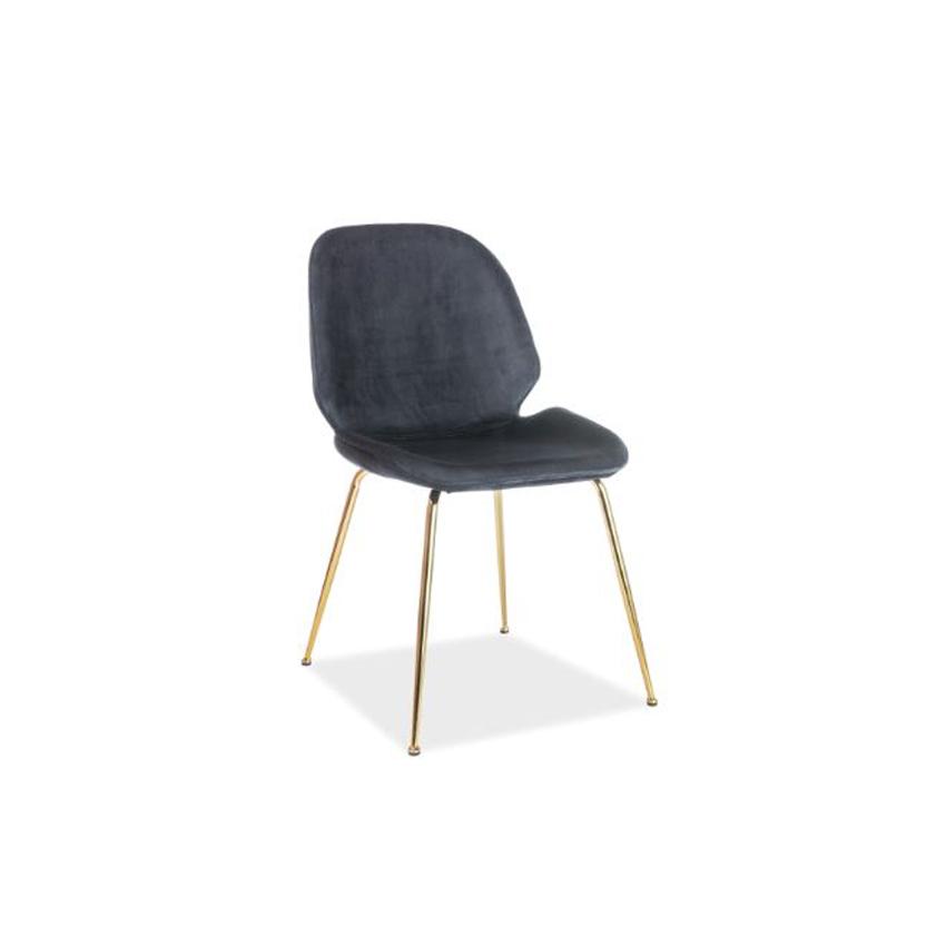 scaun-catifea-adrien-negru
