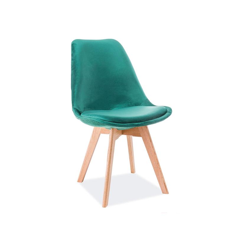 scaun-catifea-dior-verde-stejar