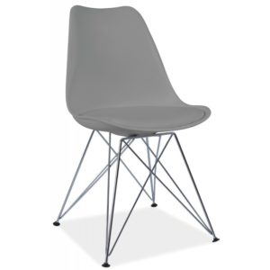 scaun-din-metal-tapitat-tim-gri