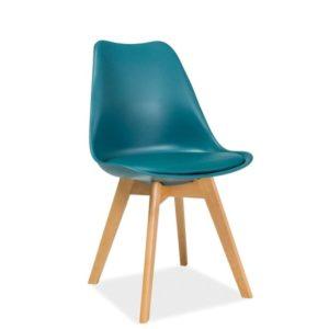 scaun-tapitat-kris-turcoaz
