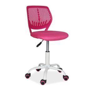 scaun-birou-pentru-copii-max-roz