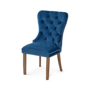Scaun-tapitat-Madame-natur-albastru-ARV