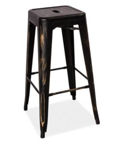 scaun-bar-long-negru-antic