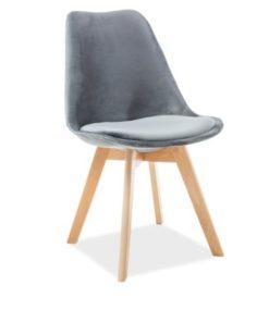 scaun-catifea-dior-gri