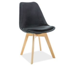 scaun-catifea-dior-negru
