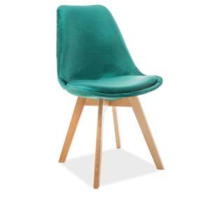 scaun-catifea-dior-verde