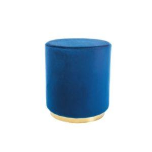 taburet-furla-gold-albastru