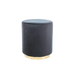 taburet-furla-gold-negru