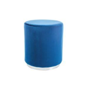 taburet-furla-silver-albastru