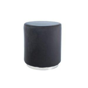 taburet-furla-silver-negru