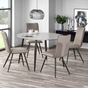 Set-masa-MDF-Belato-4-scaune-K289-Beige