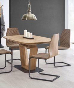 Set-masa-MDF-Blacky-4-scaune-K265-Brown