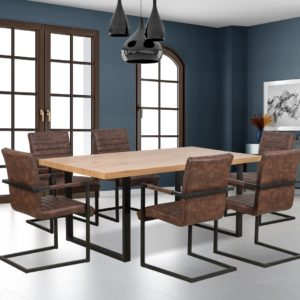Set-masa-MDF-Torres-6-scaune-K302