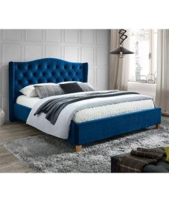 Pat-tapitat-cu-catifea-Aspen-albastru-160×200-1