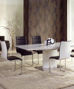 Set-masa-din-MDF-Marcello-White-4-scaune-K104