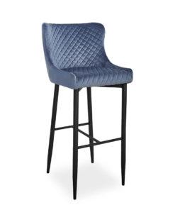 scaun-bar-catifea-colin-b-gri