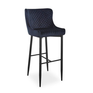 scaun-bar-catifea-colin-b-negru