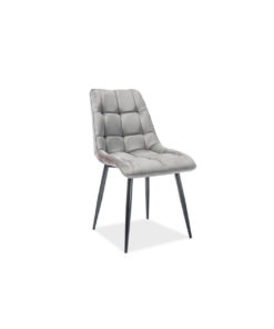scaun-catifea-chic-gri