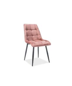 scaun-catifea-chic-roz