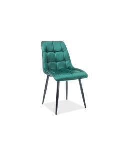 scaun-catifea-chic-verde