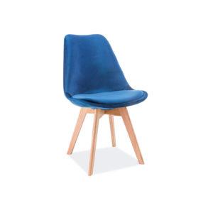 scaun-catifea-dior-albastru-stejar