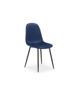 scaun-catifea-fox-albastru