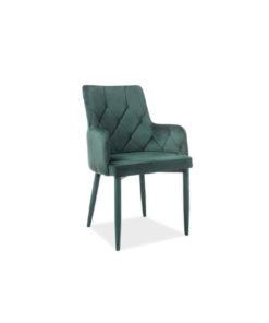 scaun-catifea-ricardo-verde
