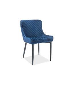 scaun-tapitat-colin-b-catifea-albastru