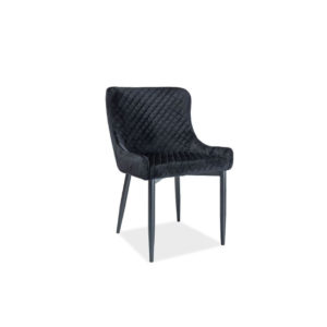 scaun-tapitat-colin-b-catifea-negru