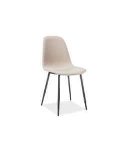 scaun-tapitat-fox-bej-negru