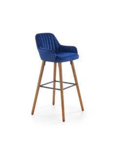 scaun-bar-catifea-h-93-albastru
