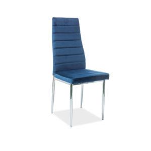 scaun-h-261-catifea-albastru