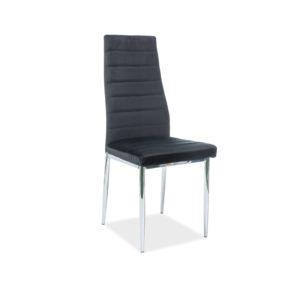 scaun-h-261-catifea-negru