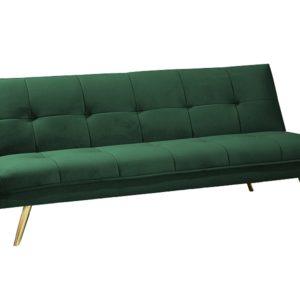 Canapea extensibila Moritz Velvet Verde