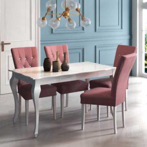 Set Masa Bella cu 4 scaune S68
