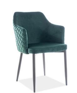 Scaun Astor Velvet Verde