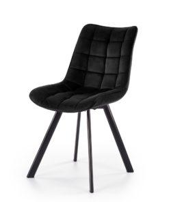 Scaun K332 velvet negru