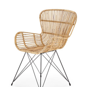 Scaun K335 rattan natural 3