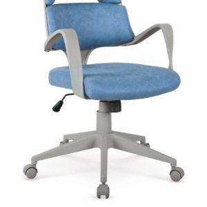 Scaun de birou Calypso albastru gri