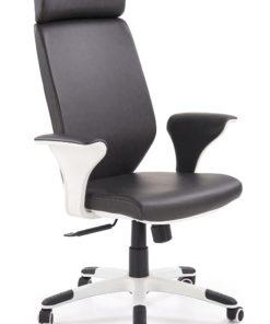 Scaun de birou Lonatti negru alb