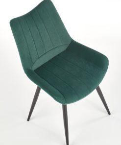 Scaun K388 velvet verde 2