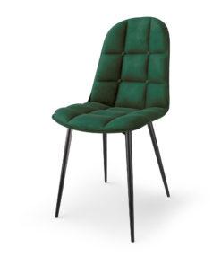 Scaun K417 velvet verde 2