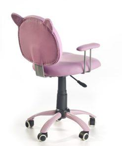 Scaun de birou copii Kitty roz 2