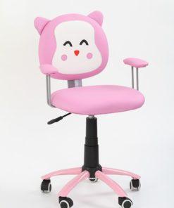 Scaun de birou copii Kitty roz