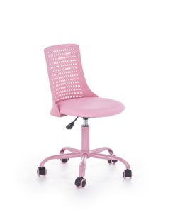 Scaun de birou copii Pure roz