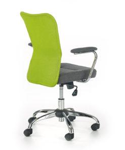 scaun de birou copii Andy gri verde 2